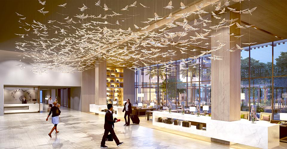 lighting design of the hotel 1 in dubai lighting design images